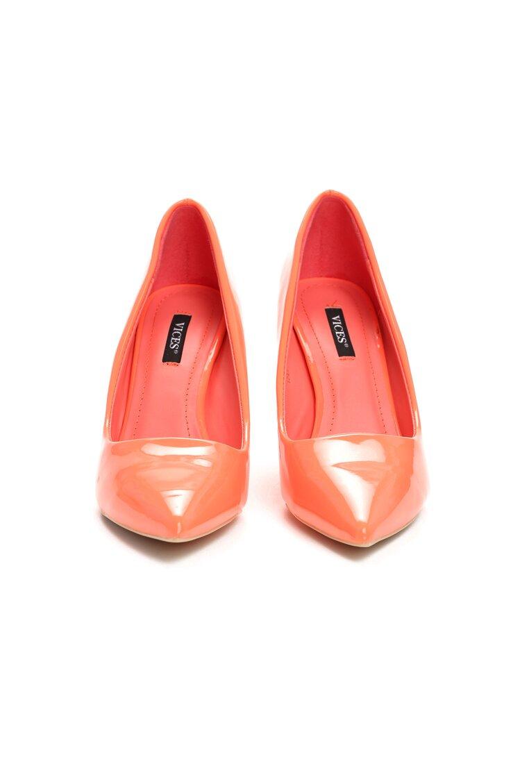Pomarańczowe Szpilki Killer Heels