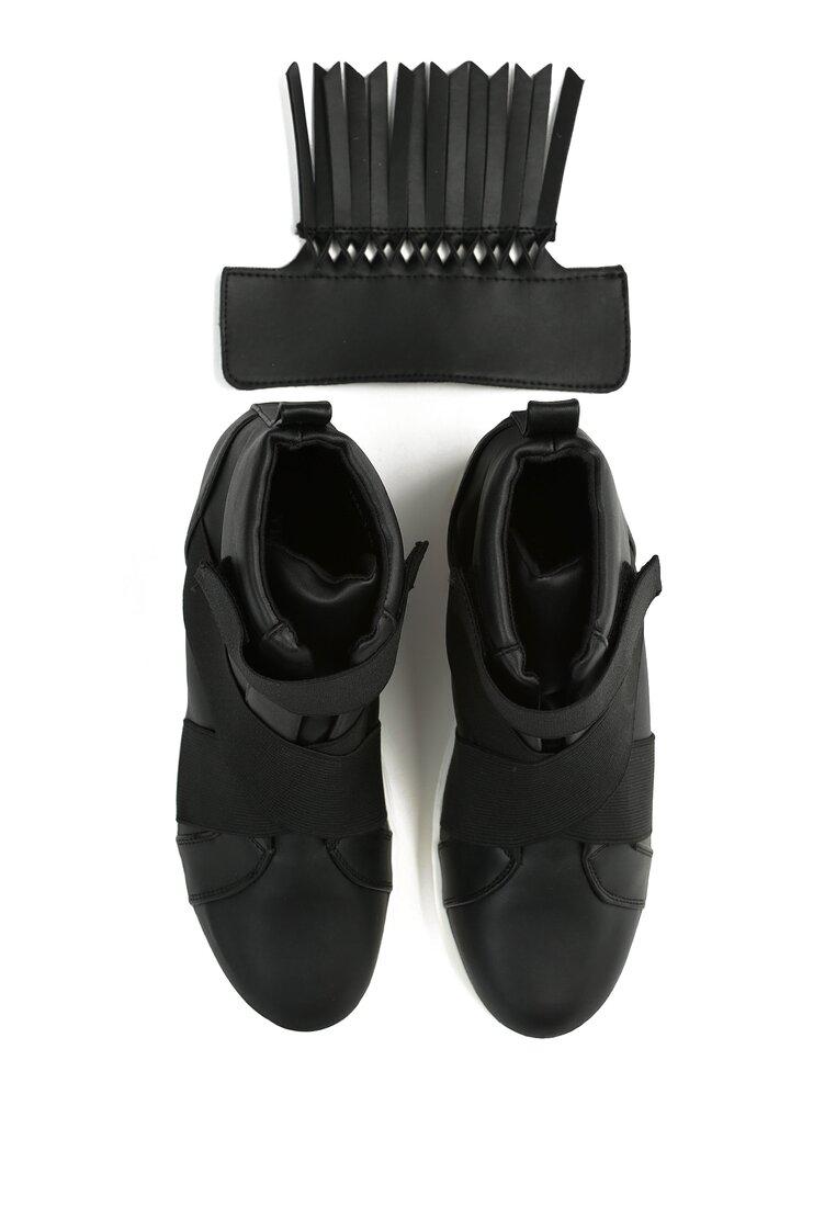 Czarne Sneakersy Ginger