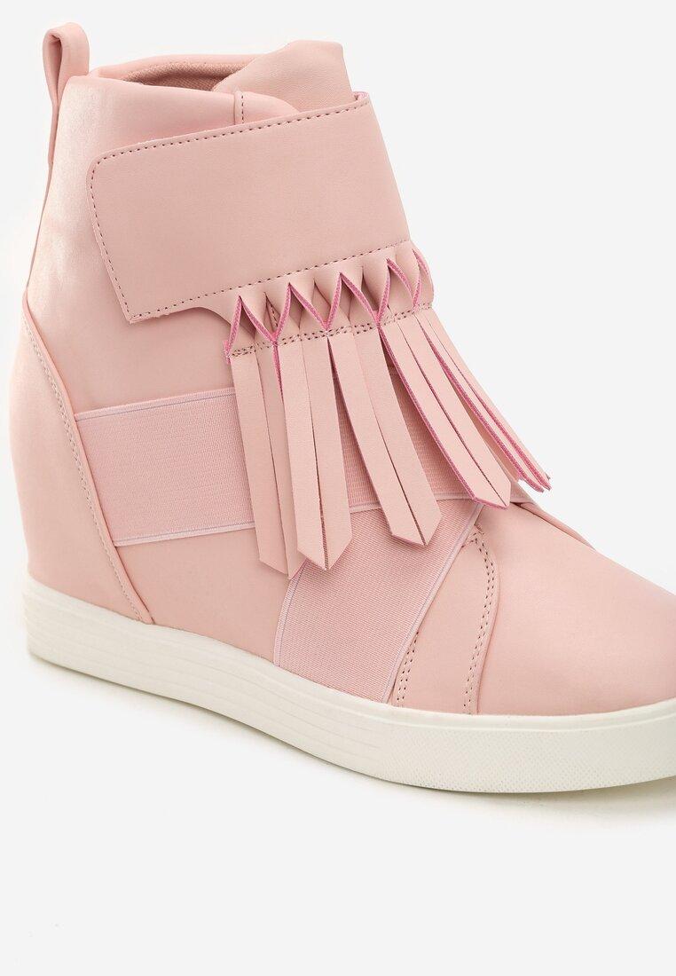 Różowe Sneakersy Ginger