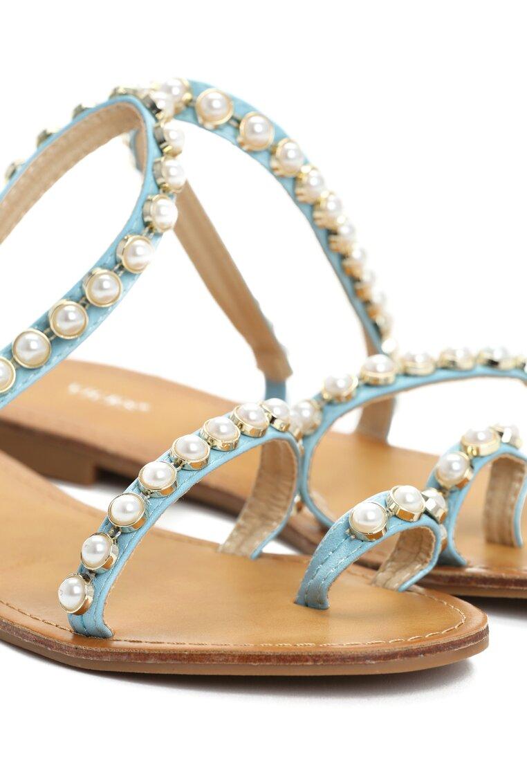 Niebieskie Sandały Shooting Star