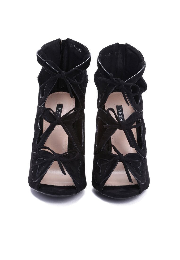 Czarne Sandały Valentine