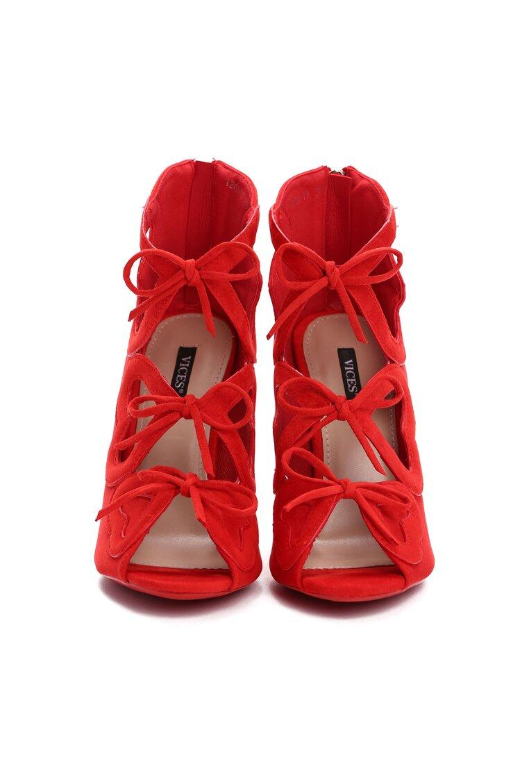 Czerwone Sandały Shifty Sneak