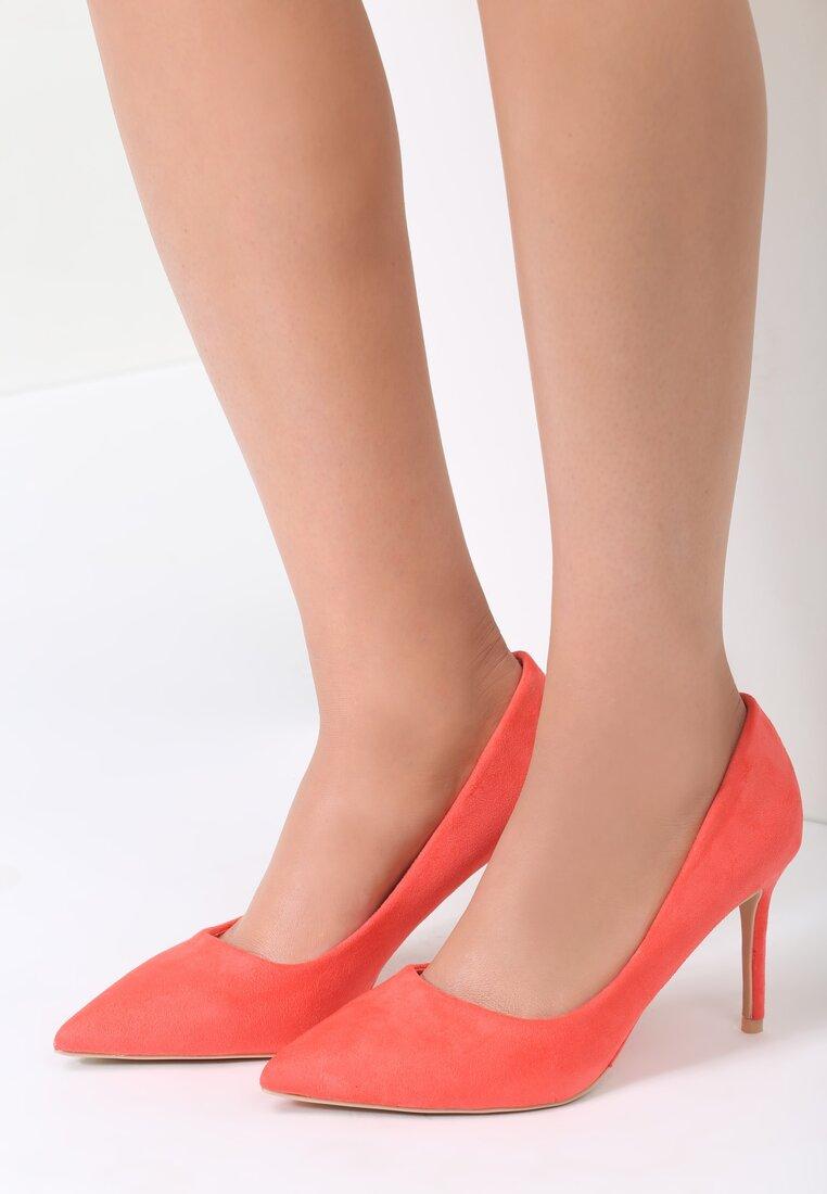 Pomarańczowe Szpilki Showgirl
