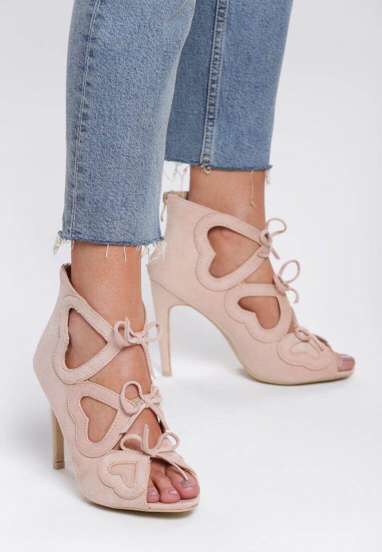 Beżowe Sandały Shifty Sneak