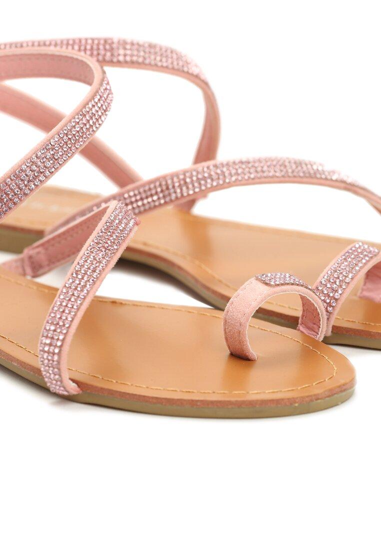 Różowe Sandały Rascals