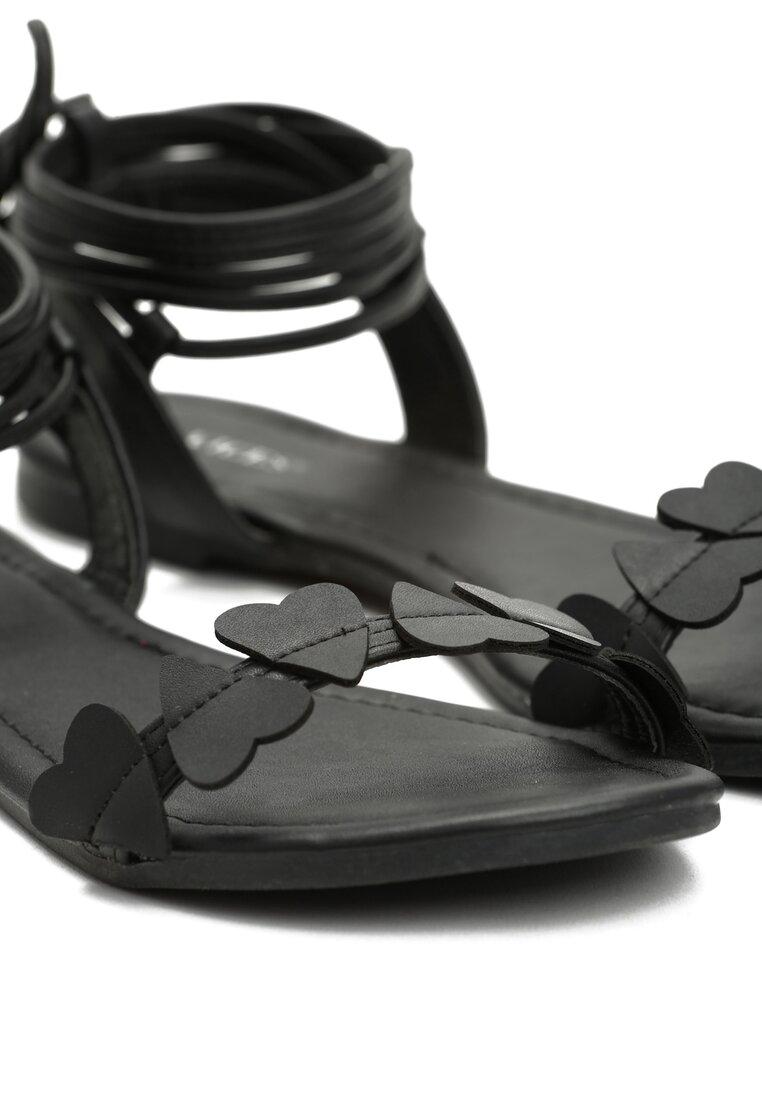 Czarne Sandały Essence of Love
