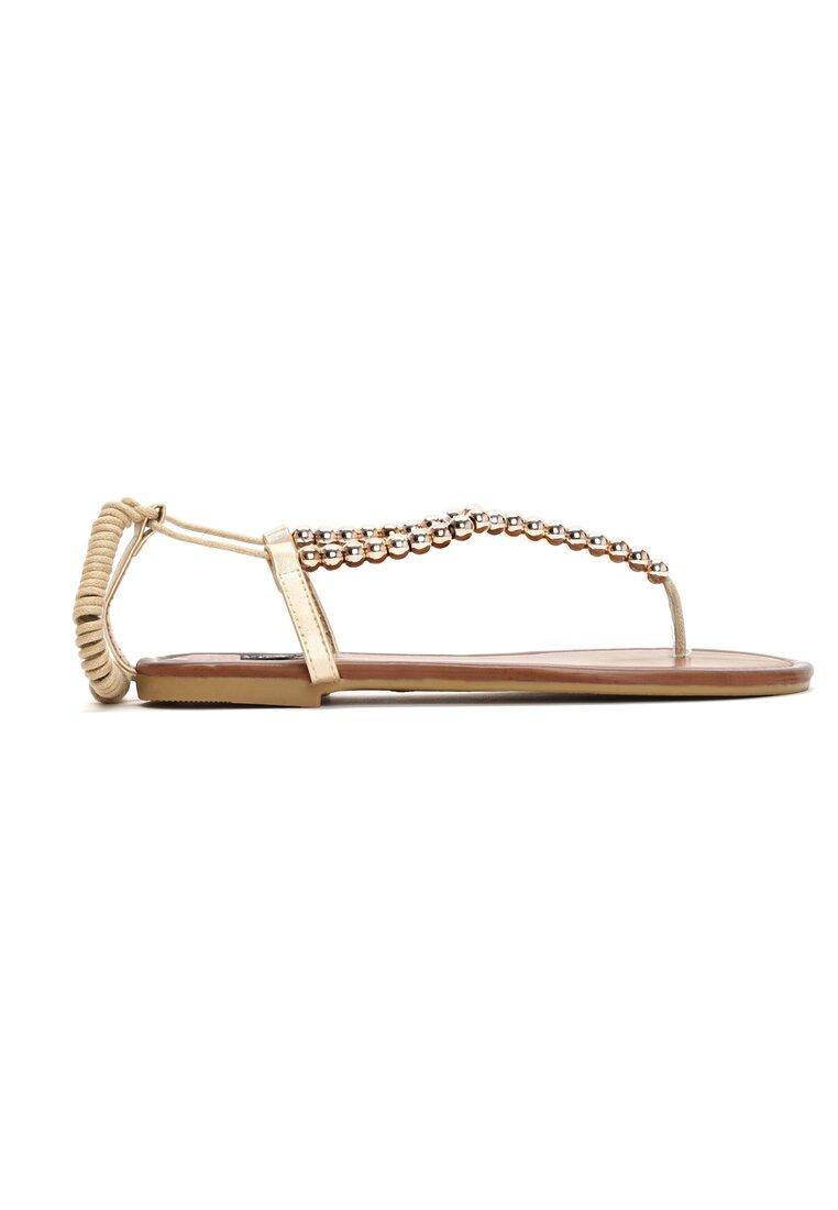 Złote Sandały All In Fashion