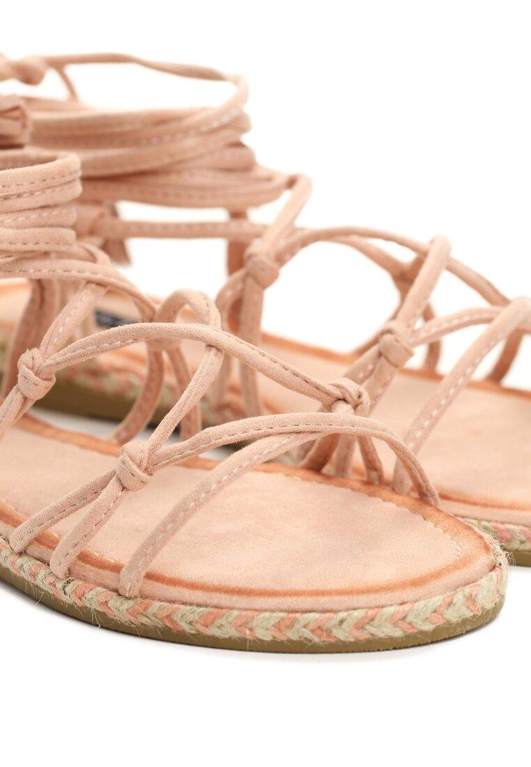Różowe Sandały Difference