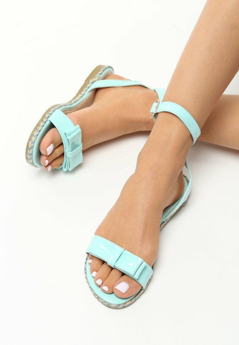 Niebieskie Sandały Puddle
