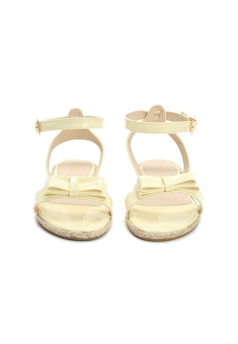 Żółte Sandały Puddle