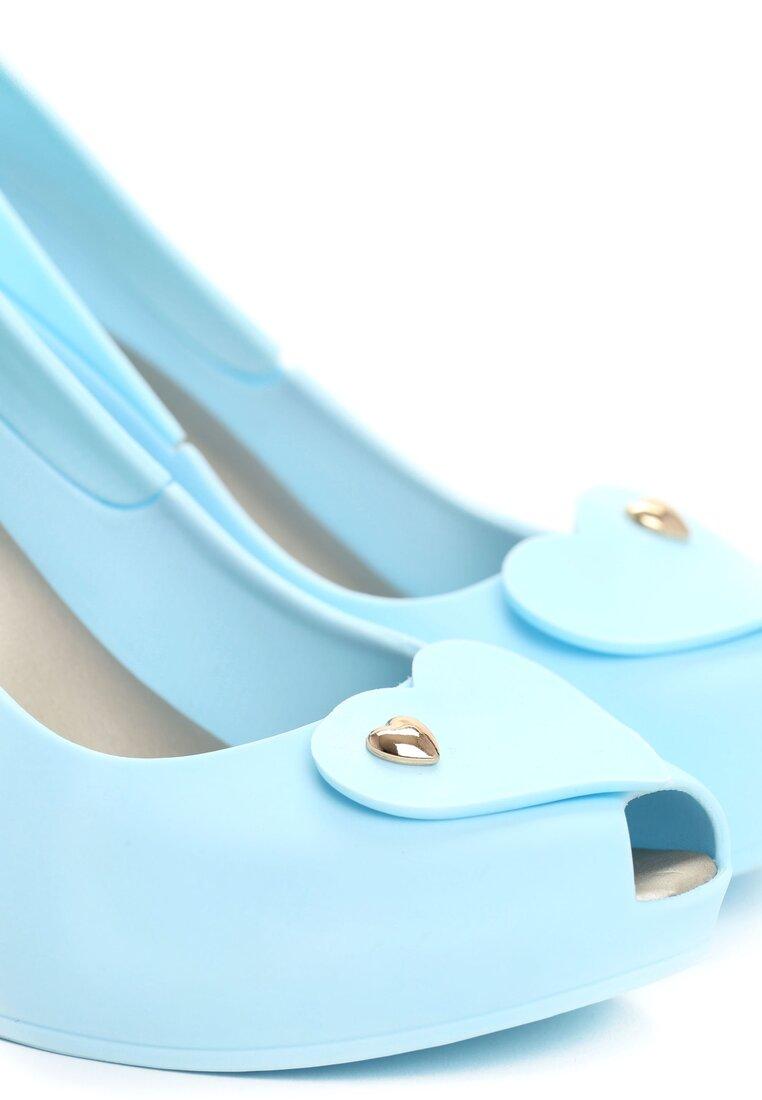 Niebieskie Koturny Teney