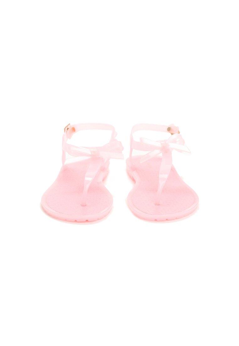 Różowe Sandały Key With Shoes