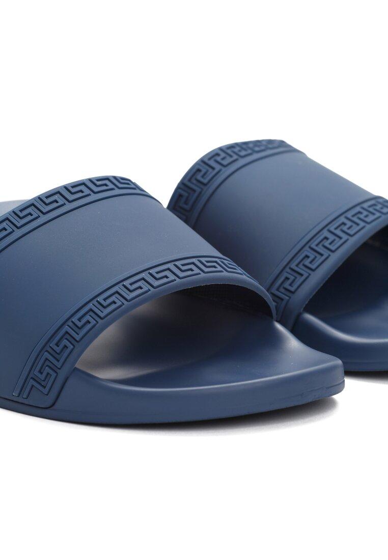 Niebieskie Klapki Antiquity