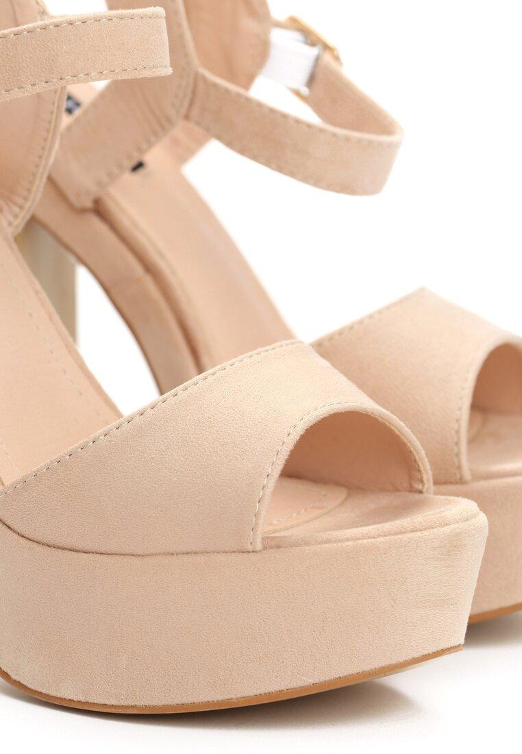 Beżowe Sandały Paralyzer