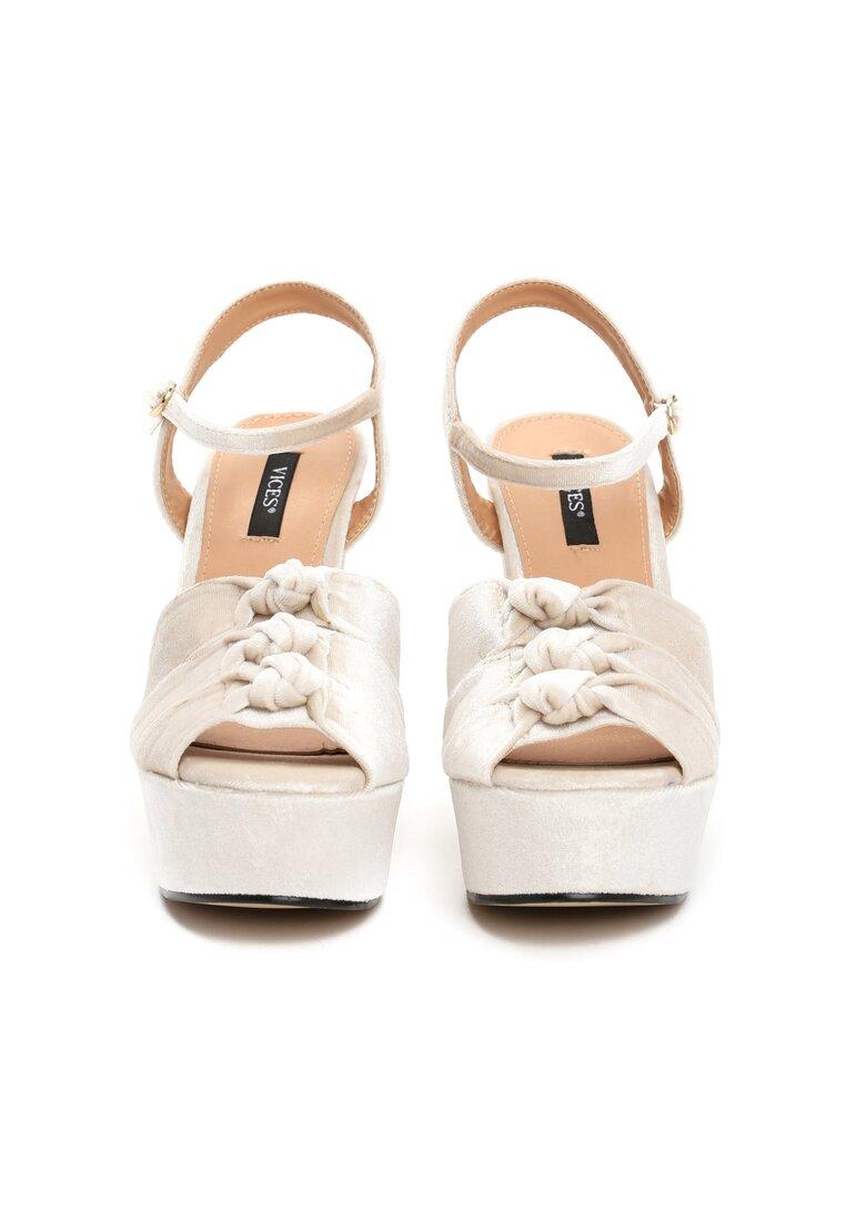 Beżowe Sandały Ambrosia