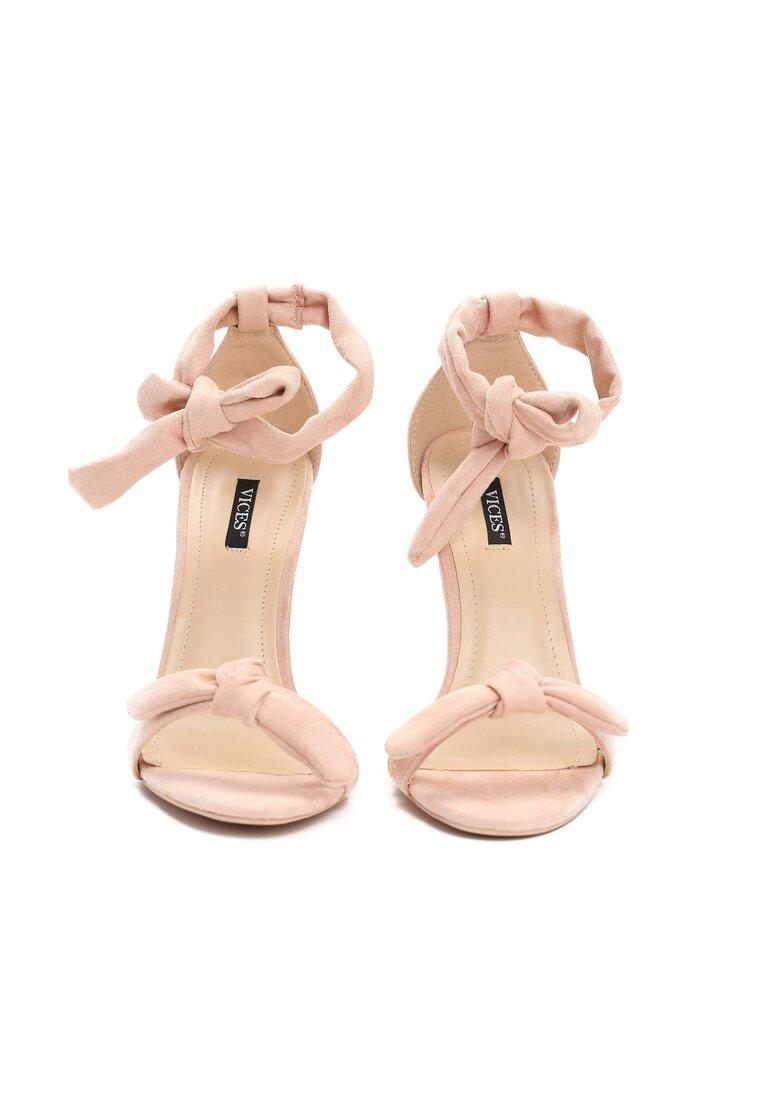 Różowe Sandały Evelia
