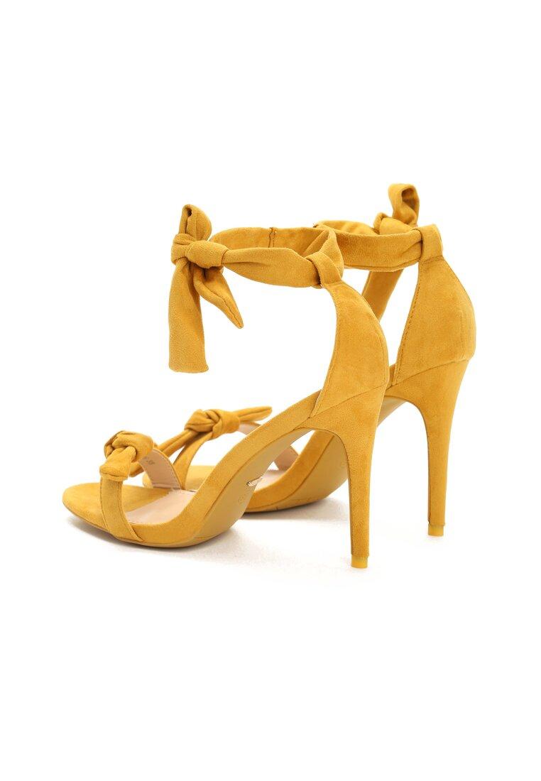 Żółte Sandały Evelia