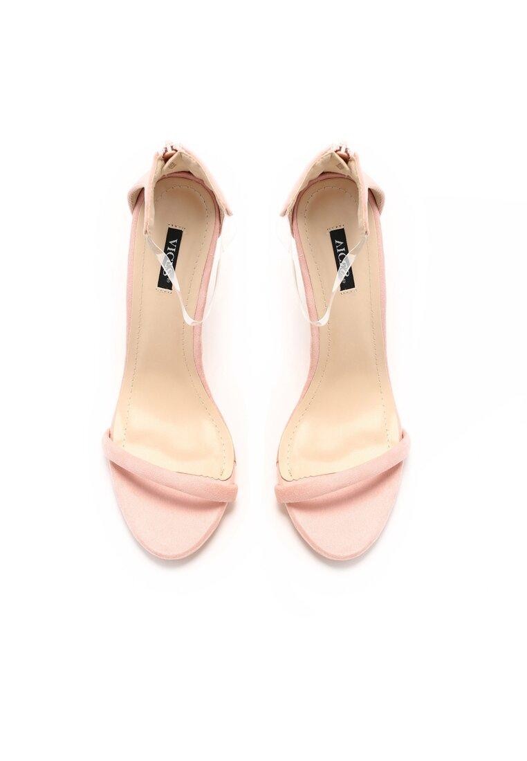 Różowe Sandały Ad Hoc