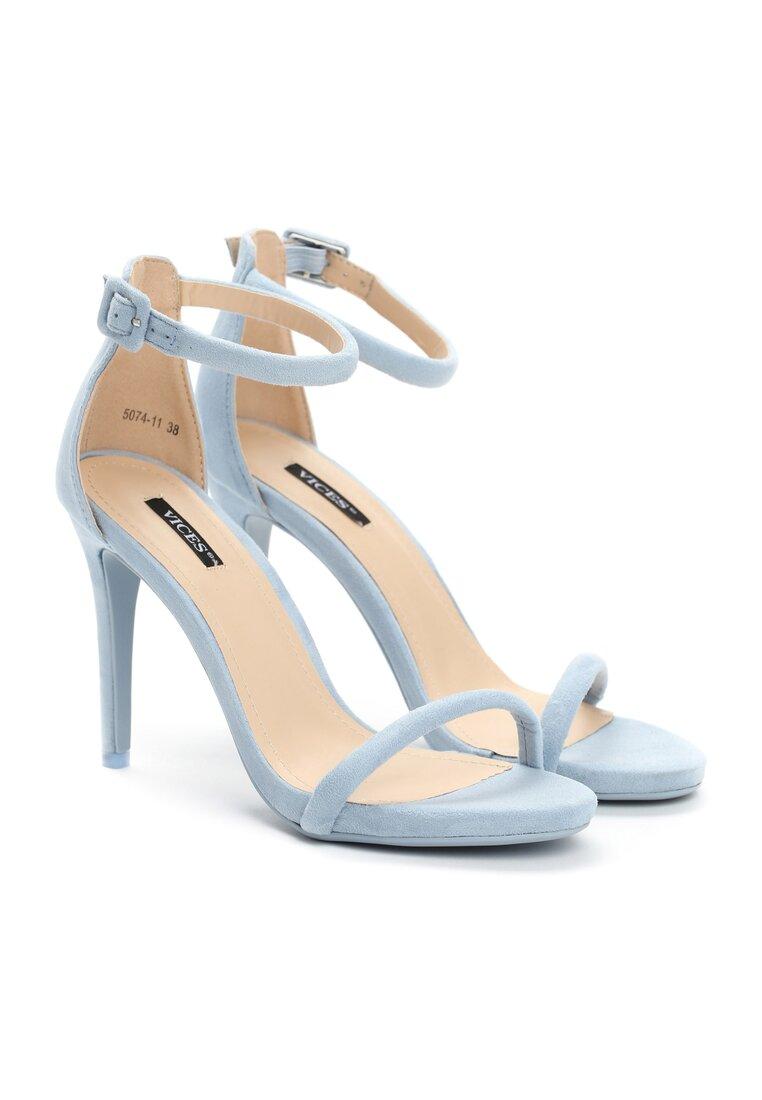 Niebieskie Sandały Love Stoned