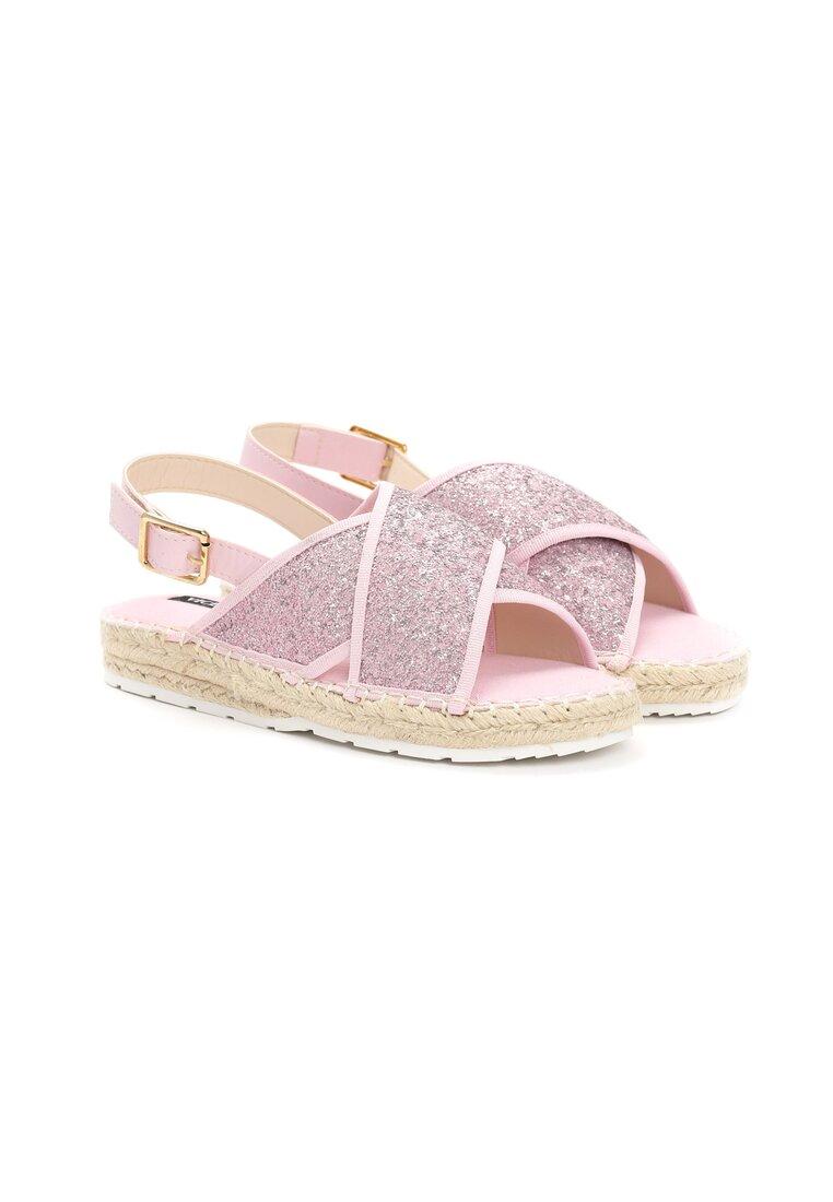 Różowe Sandaly Croquis