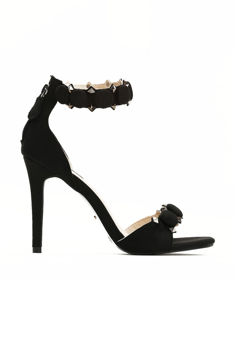 Czarne Sandały Dovile