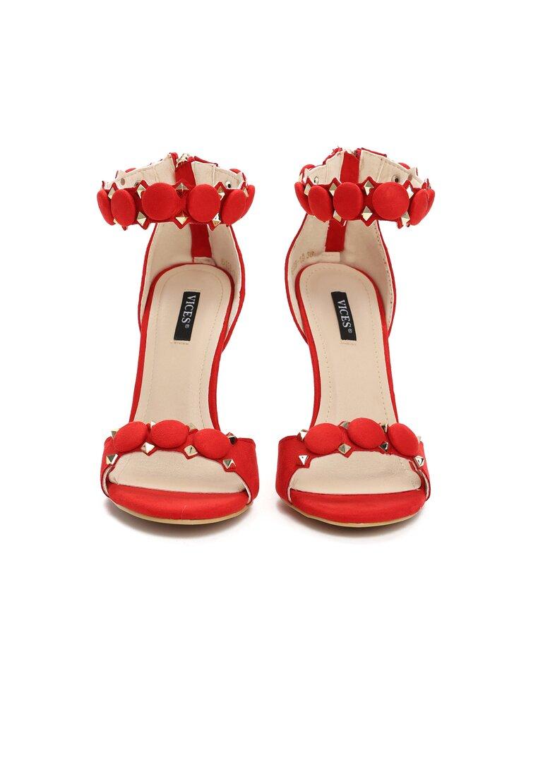 Czerwone Sandały Dovile