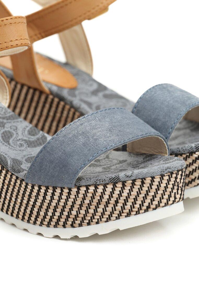 Niebieskie Sandały All The Time