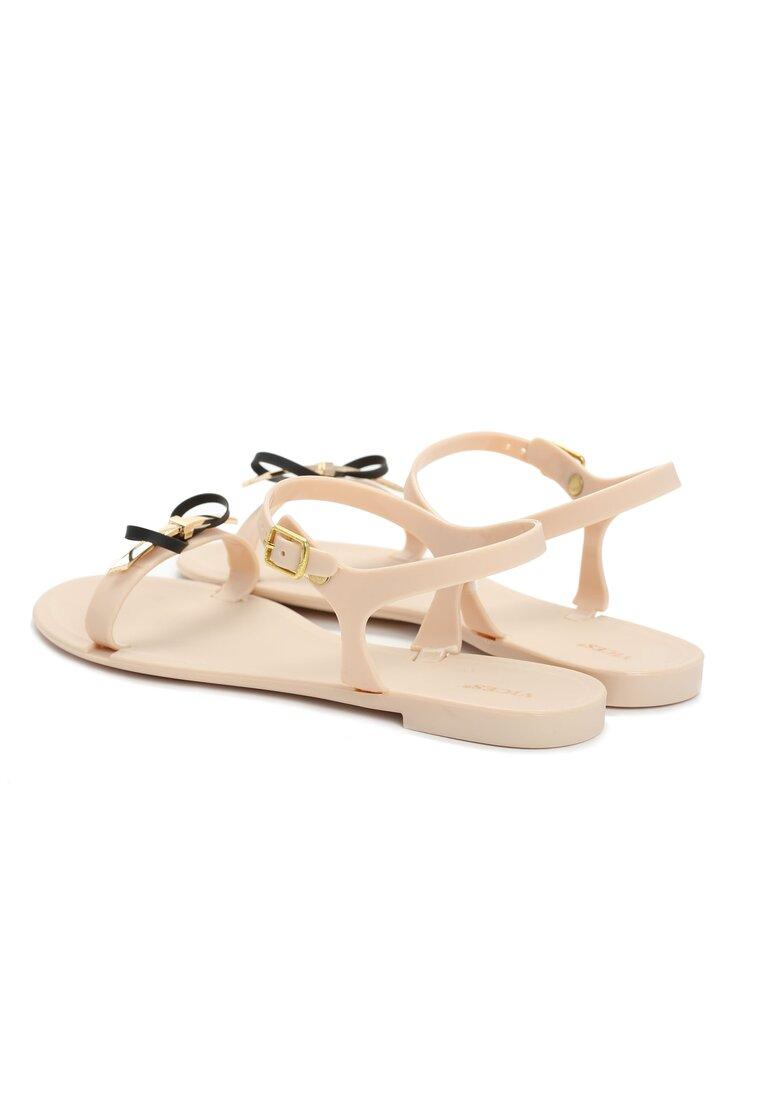 Beżowe Sandały Dahlia