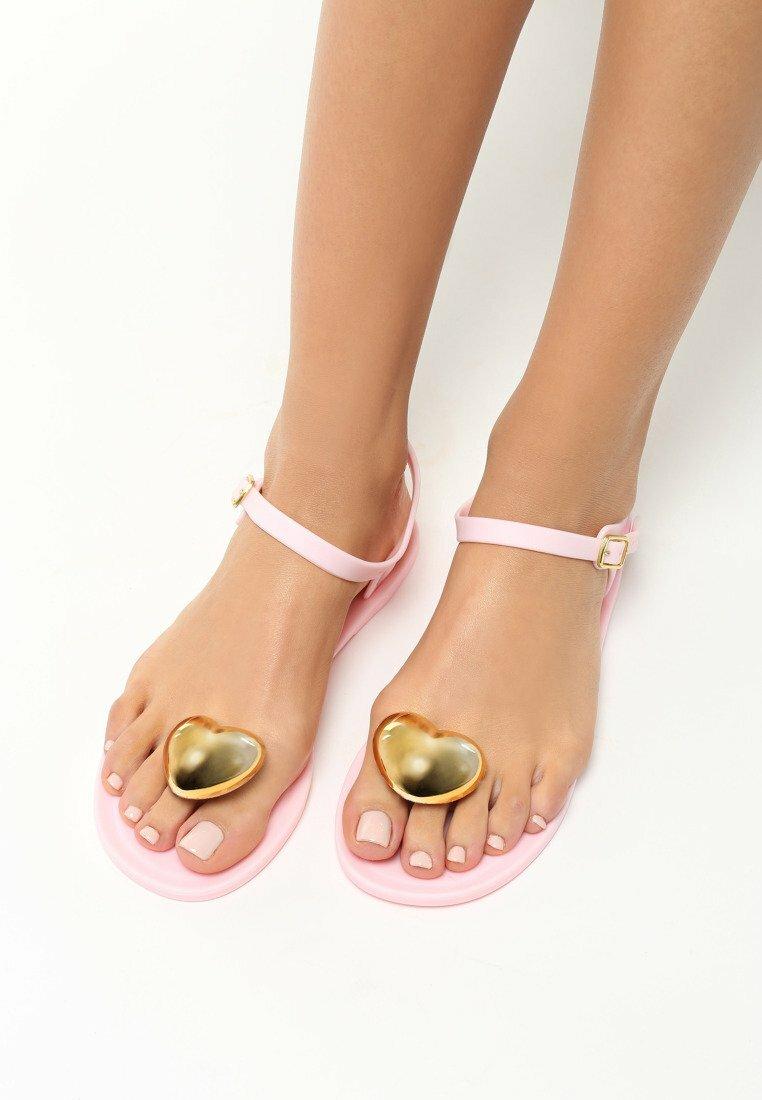 Różowe Sandały Pineapple