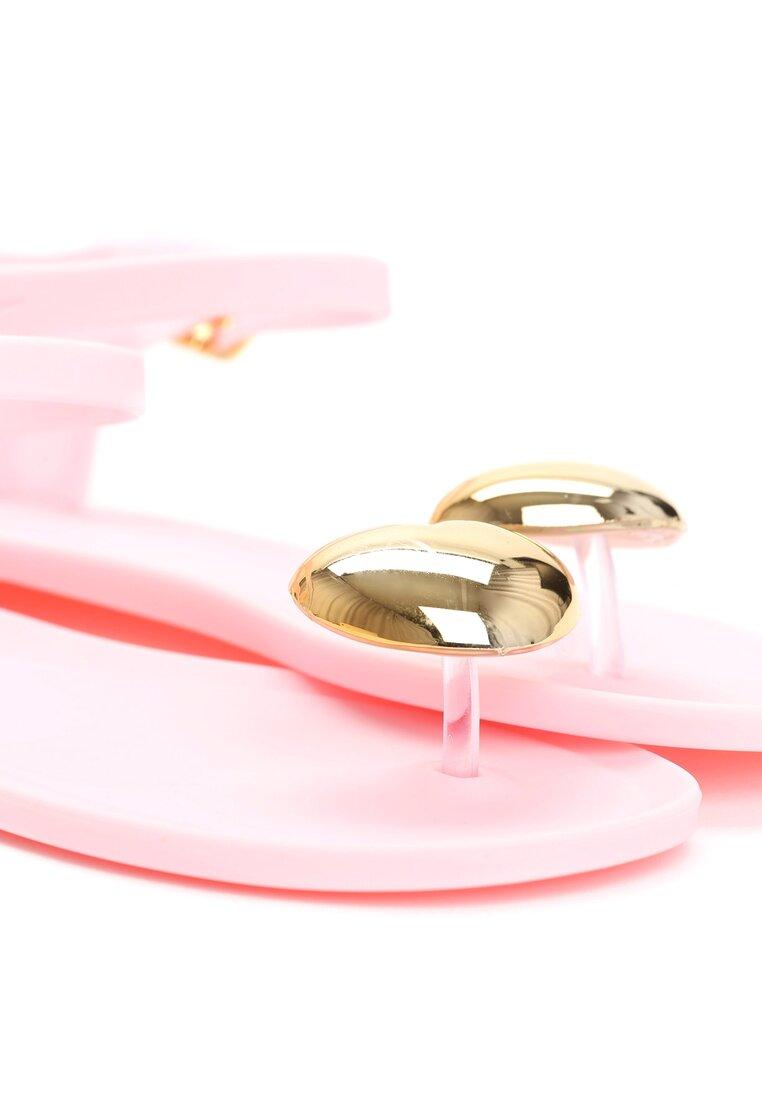 Różowe Sandały Twinkle