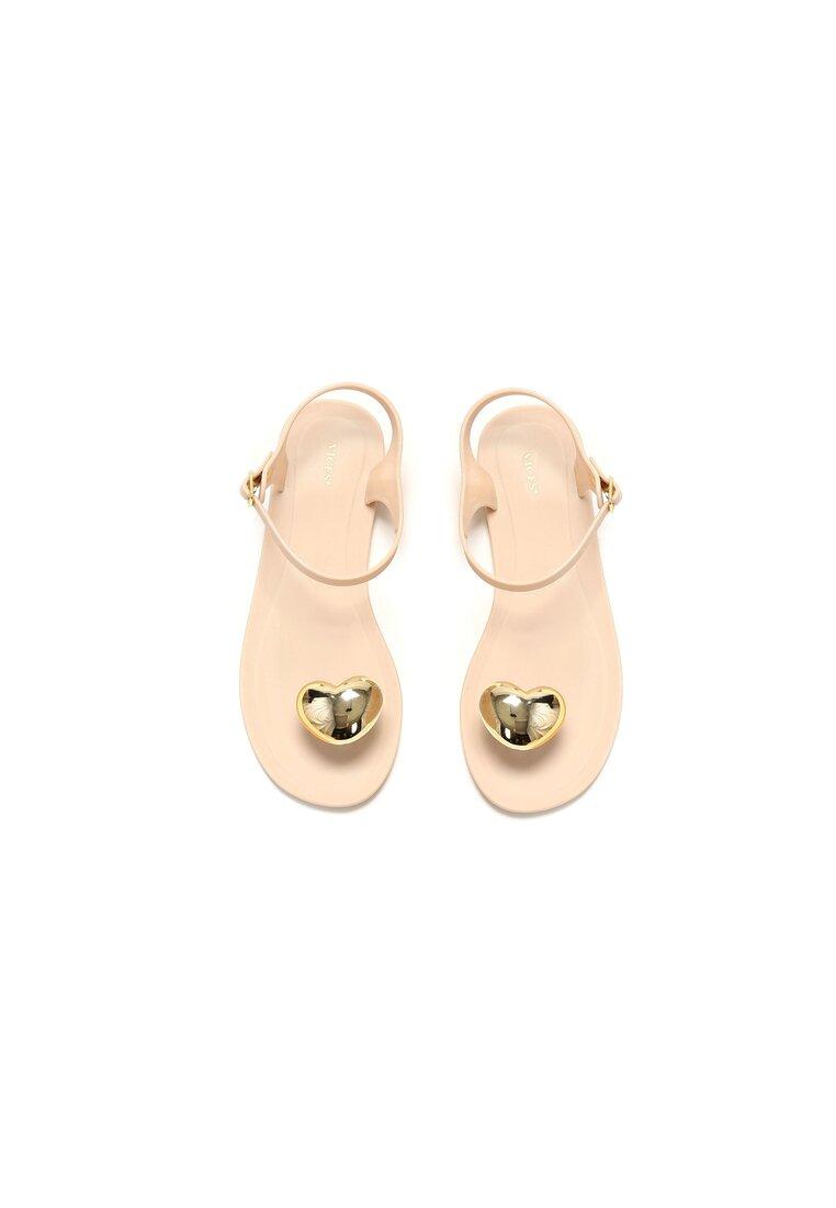 Beżowe Sandały Twinkle