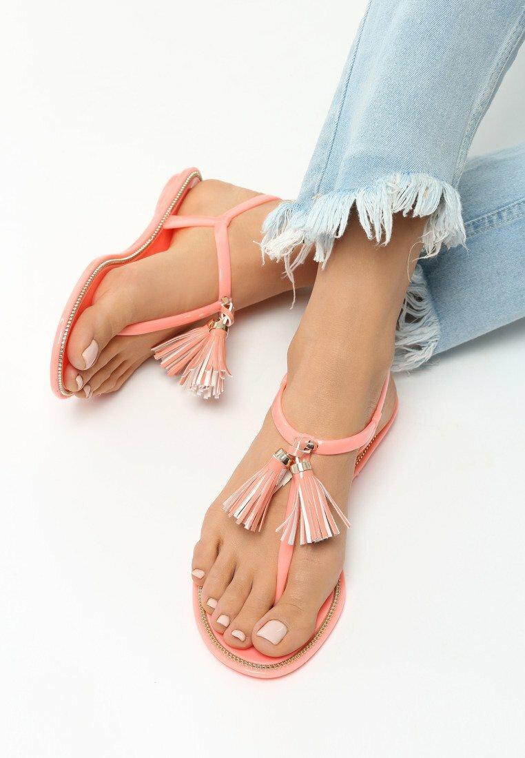 Pomarańczowe Sandały Incandescence