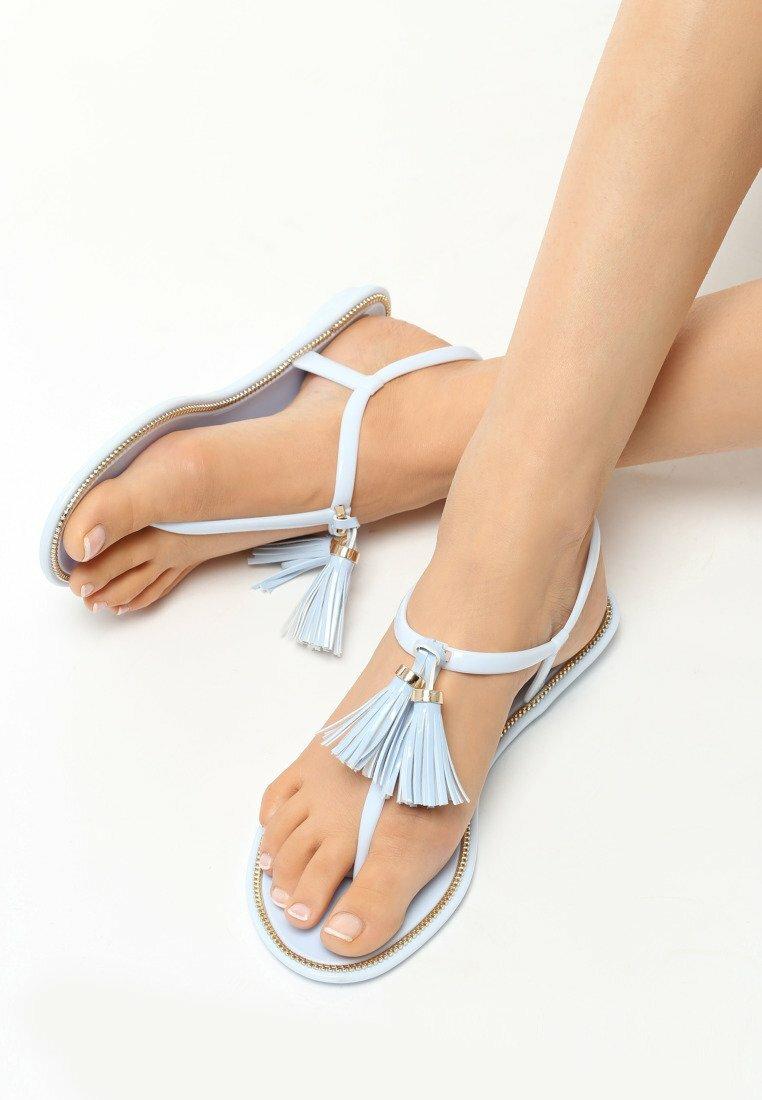 Jasnoniebieskie Sandały Whiplash
