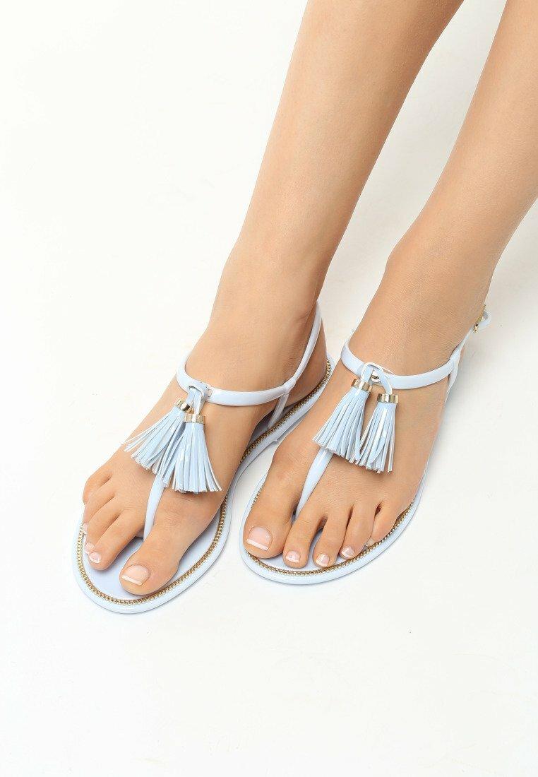 Jasnoniebieskie Sandały Incandescence
