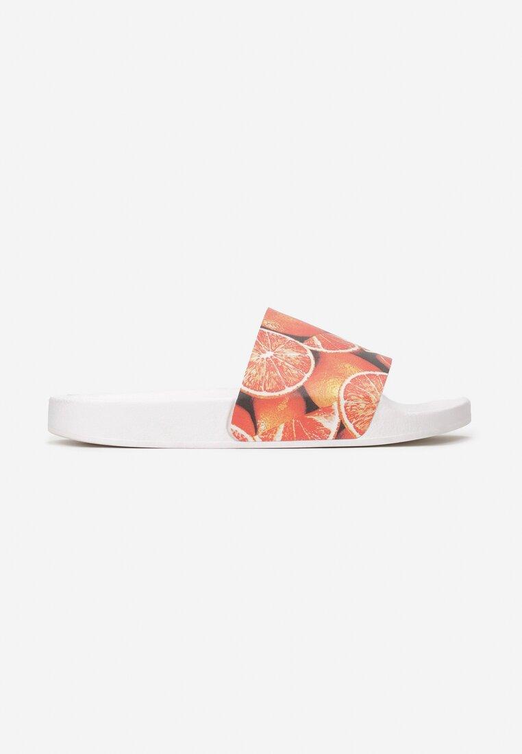 Pomarańczowe Klapki Strikhedonia