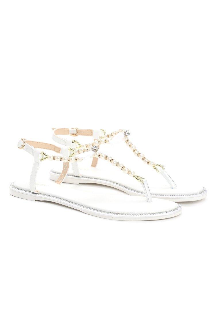 Białe Sandały Bomi