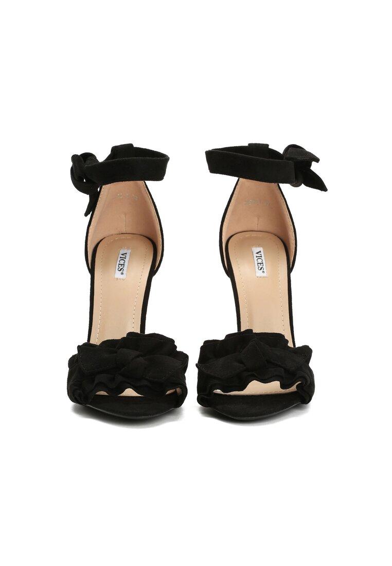 Czarne Sandały Spring Trip