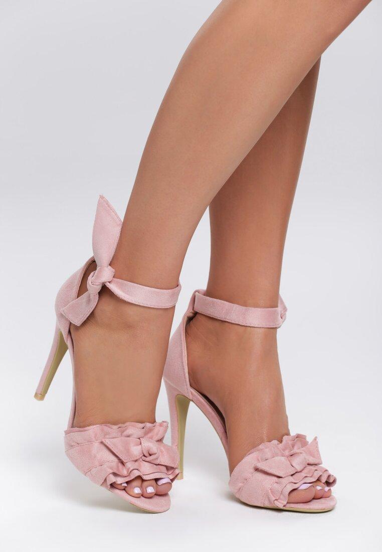 Różowe Sandały Spring Trip