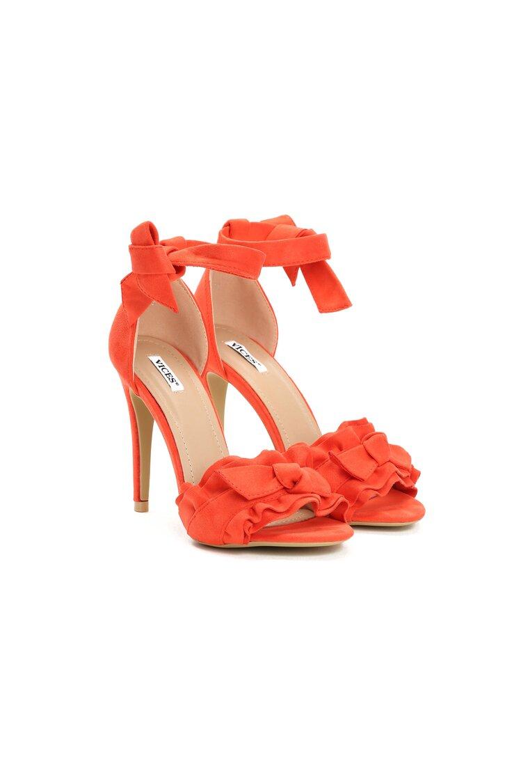 Pomarańczowe Sandały Spring Trip