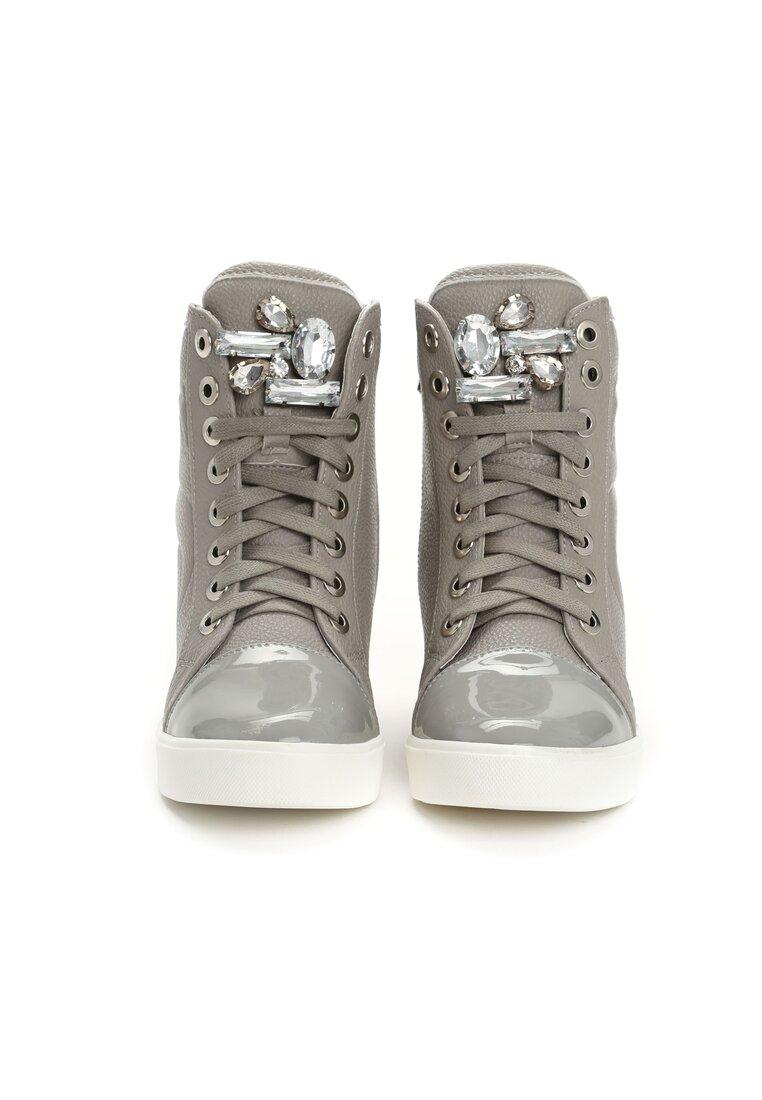 Szare Sneakersy Lumen