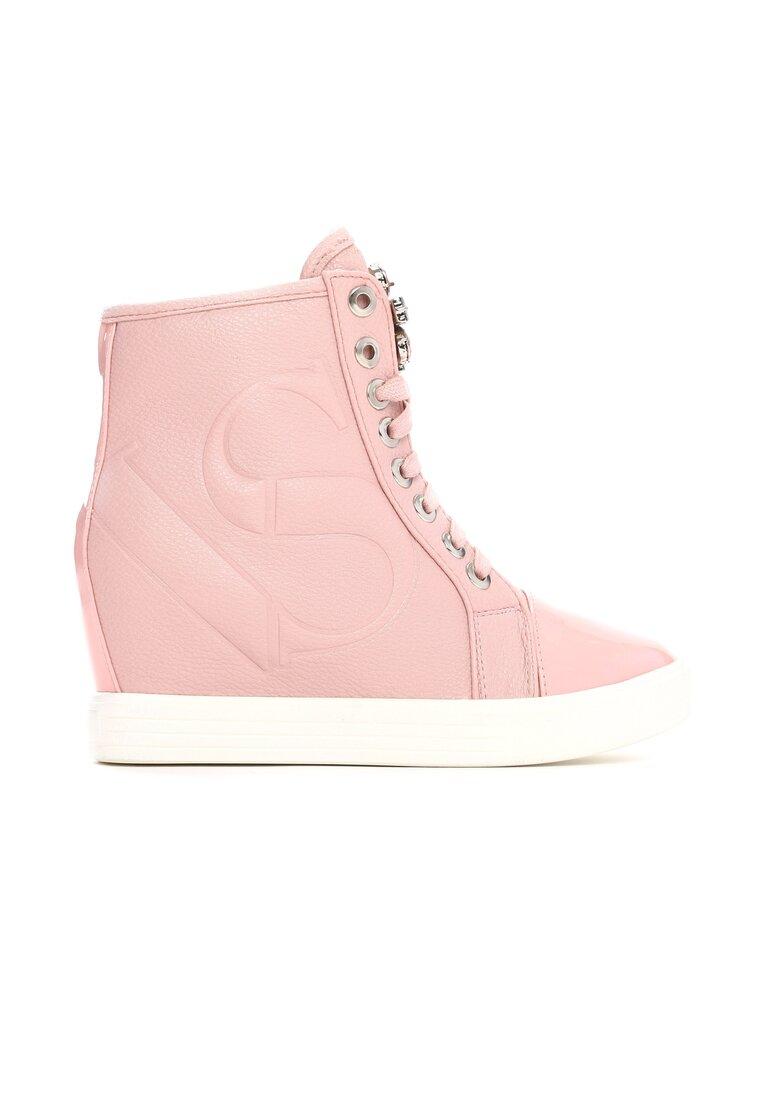 Różowe Sneakersy Lumen