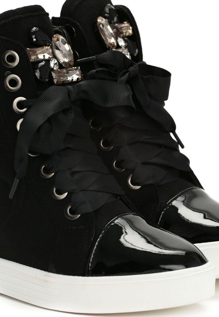 Czarne Sneakersy Kassi