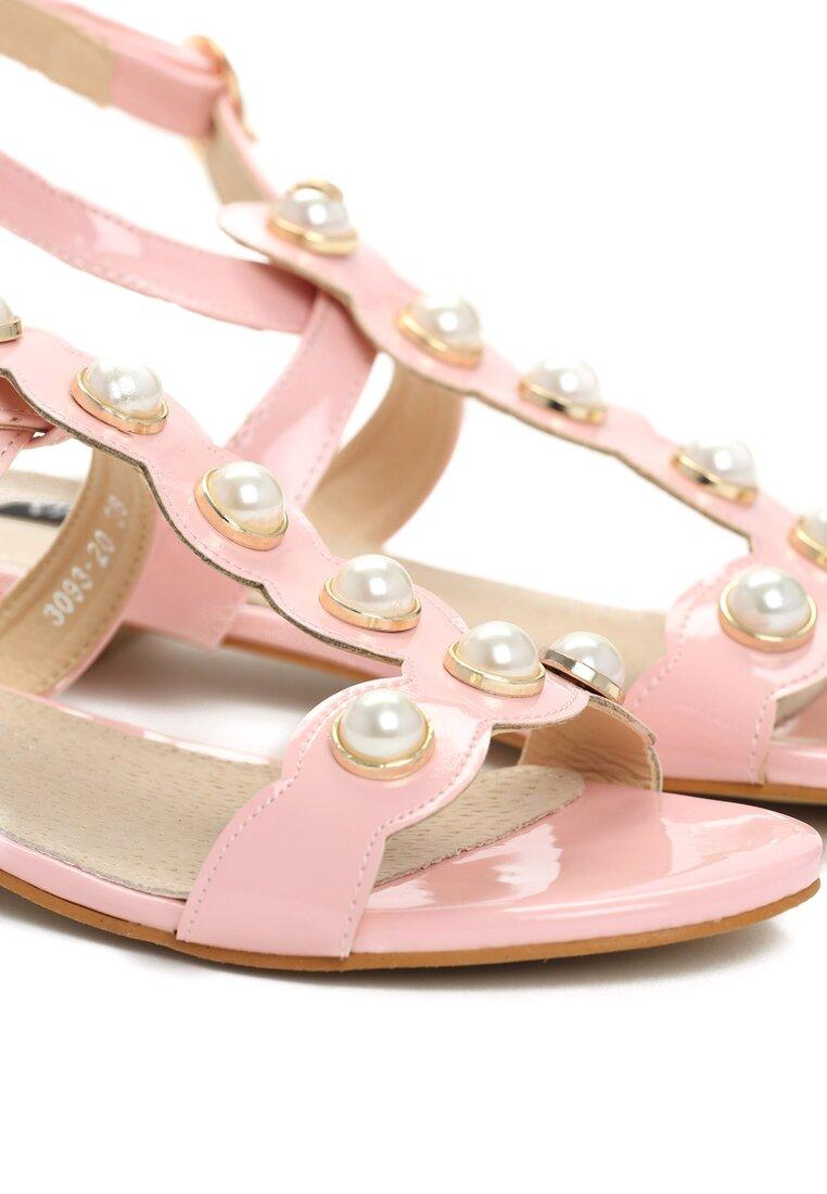 Różowe Sandały Baby Cakes
