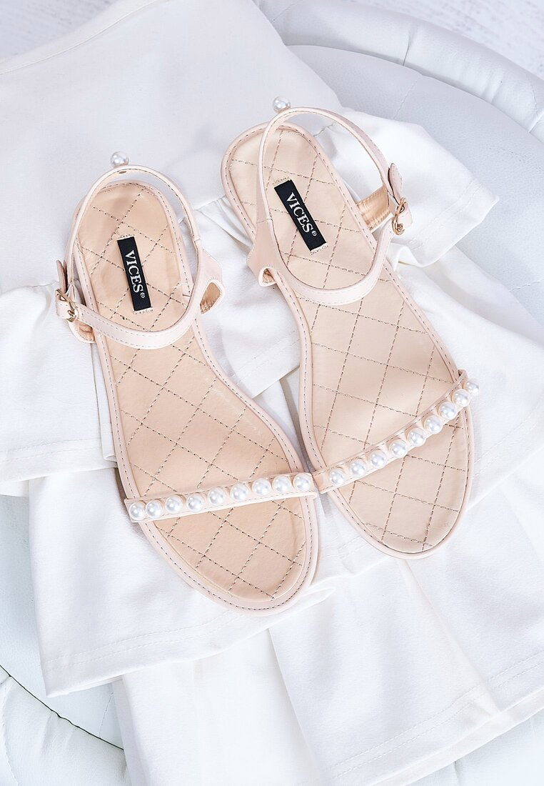 Beżowe Sandały Tender Now