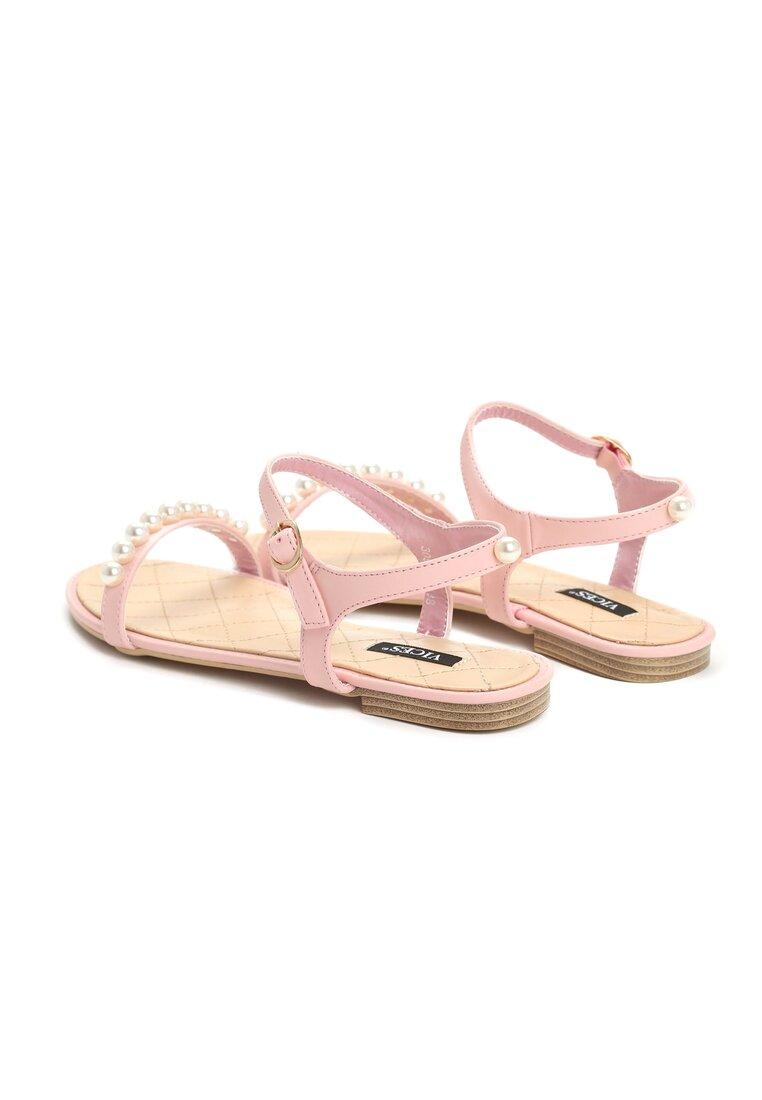 Różowe Sandały Tender Now