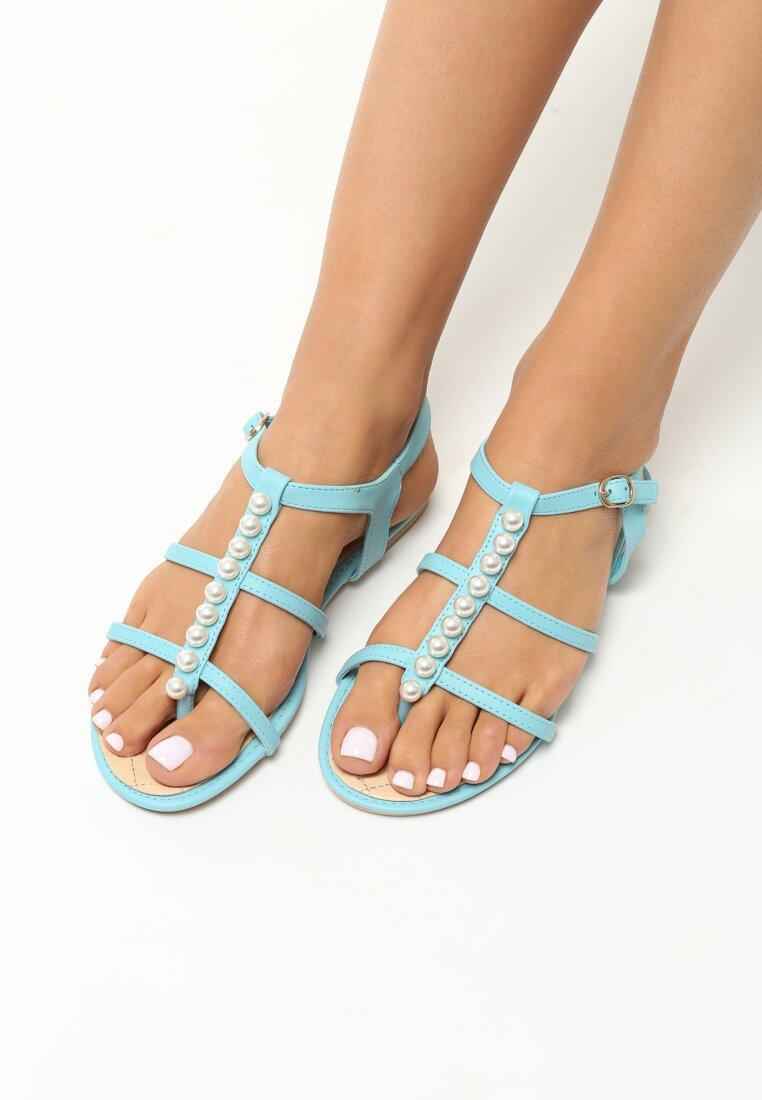 Niebieskie Sandały Royals