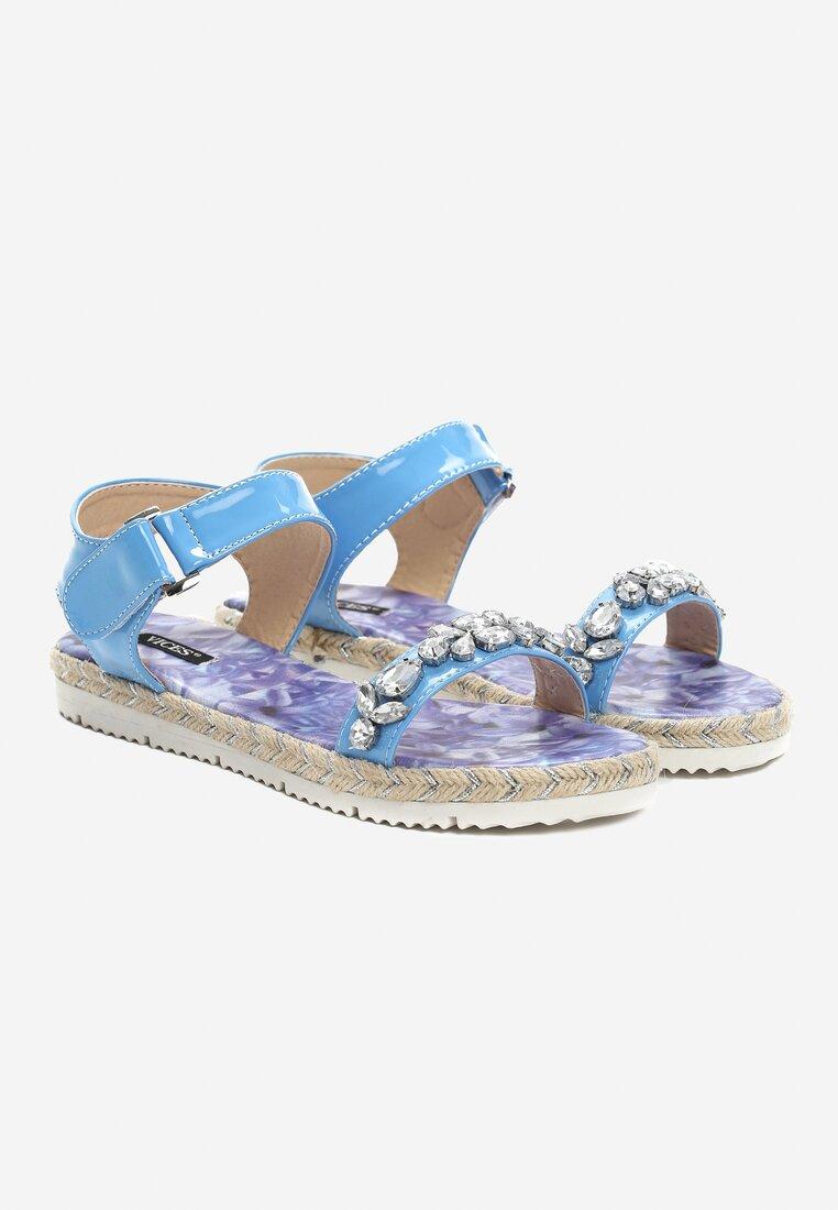 Niebieskie Sandały Petrichor