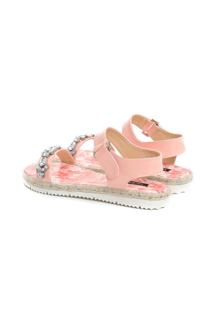 Różowe Sandały Flury