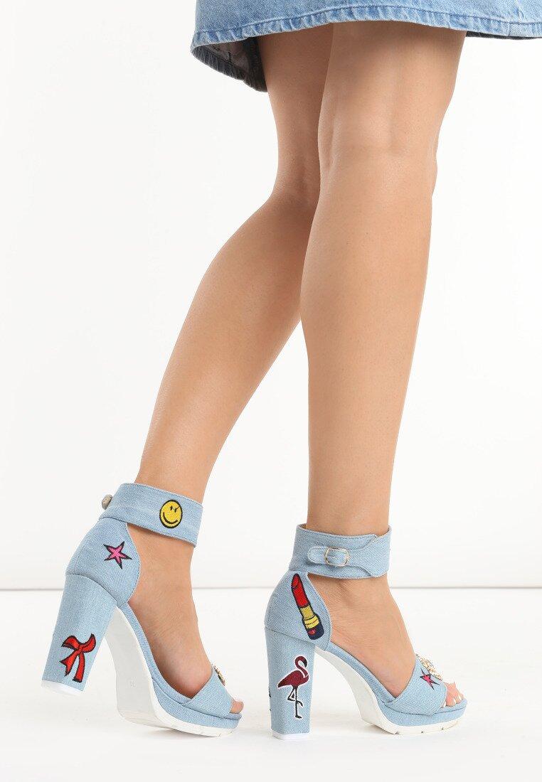Niebieskie Sandały Little Crush