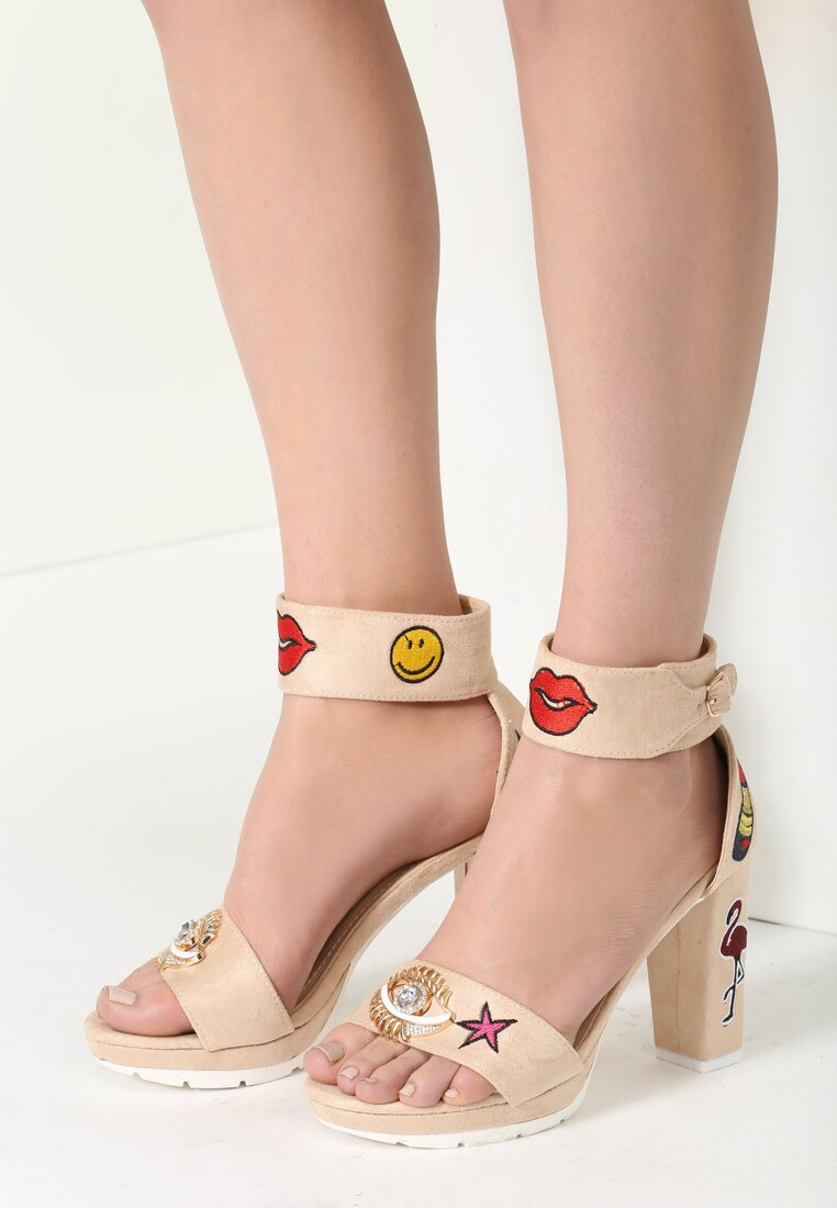 Beżowe Sandały Little Crush